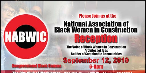 NABWIC 2019 Congressional Black Caucus (CBC) Reception