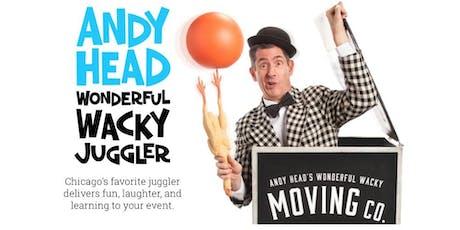Andy Head: Wonderful Wacky Juggler tickets