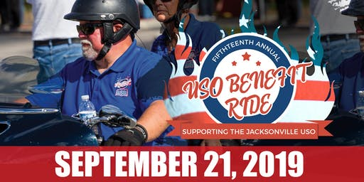 USO Motorcycle Benefit Ride