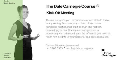 Dale Carnegie Course® - Kick-off (Toronto)
