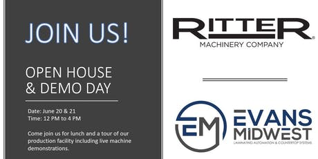 Evans Midwest / Ritter Machinery Open House tickets
