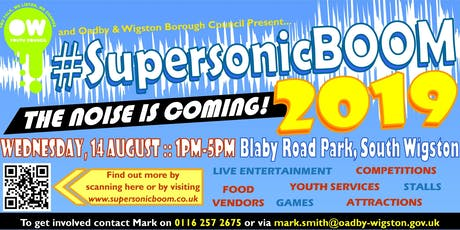 Supersonic Boom 2019 tickets