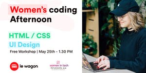 Women's coding afternoon - Free Workshop