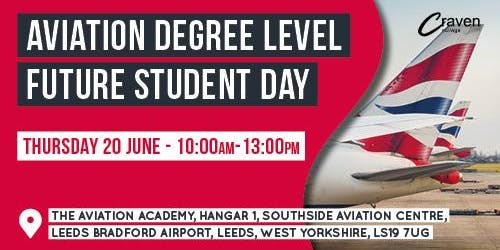 Future Student Day - Aviation Degree Level
