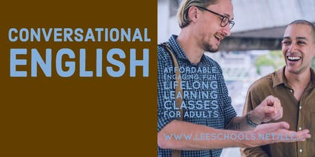 Conversational English @Lee County Public Education Center 9/9-9/25  tickets