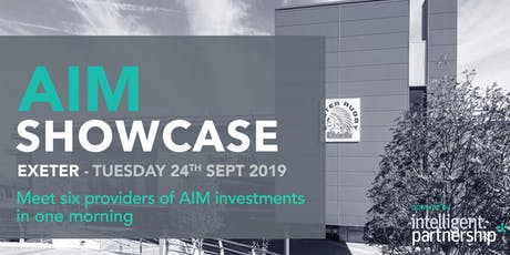 AIM Showcase for financial advisers and wealth managers | Exeter tickets