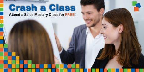Sales Training: Crash a Class -  Appleton 7-9-19