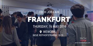 FRANKFURT TECH JOB FAIR SPRING 2019
