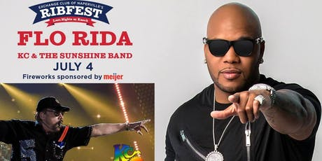 FLO RIDA and KC and The Sunshine Band: July 4th Naperville's Ribfest at Knoch Park tickets