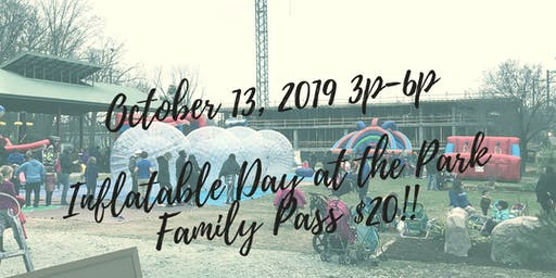 Inflatable Day at the Park - Fall 2019
