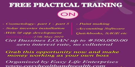 Free Practical Skill Acquisition Training  tickets
