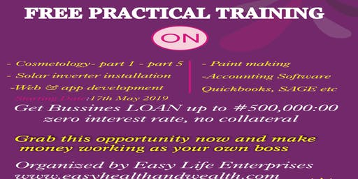Free Practical Skill Acquisition Training