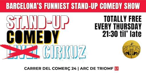 Stand-Up Comedy Cirkuz @Cirkuzland