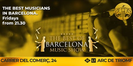 The Best of Barcelona Music Show @Cirkuzland tickets