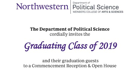 Political Science Commencement Reception and Open House 2019 tickets