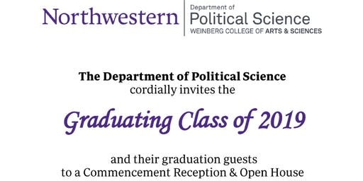 Political Science Commencement Reception and Open House 2019