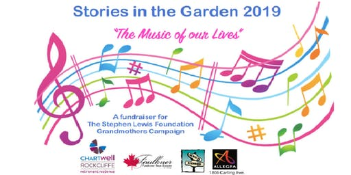 SOLD OUT!  Stories in the Garden: The Music of Our Lives