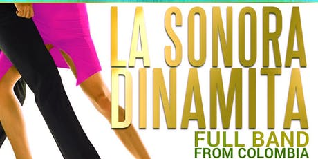 La Sonora Dinamita full band from Colombia. Noche de Verano tickets