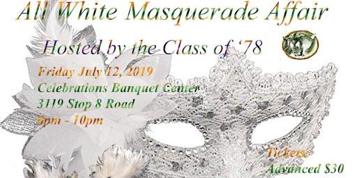 All White Masquerade Affair