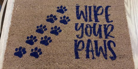 DIY Welcome Mat (Adults) 7/18 @ 6:30 PM tickets