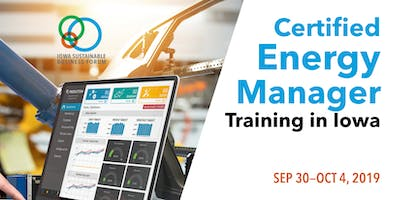 5-Day Comprehensive Certified Energy Manager (CEM) Training