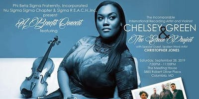 Benefit Concert Featuring Chelsey Green and The Green Project