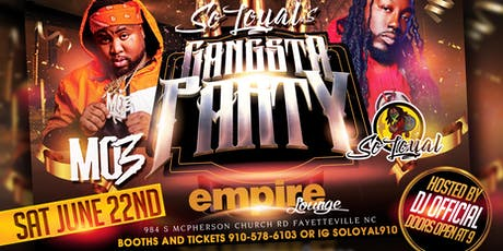 Mo3 x So Loyal Birthday Gangsta Party tickets