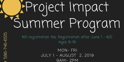 Project Impact Youth Summer Program