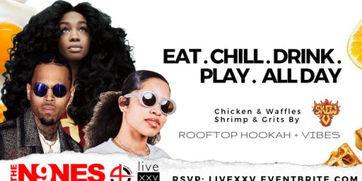 #BrunchAF: Rooftop Day Party