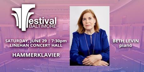 FESTIVAL BALTIMORE Concert 8: BEETHOVEN HAMMERKLAVIER  tickets