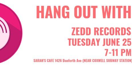 Zedd Records Meetup - Free Music Social Event tickets