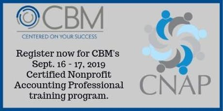Certified Nonprofit Accounting Professional Training - Sept 16-17, 2019 tickets
