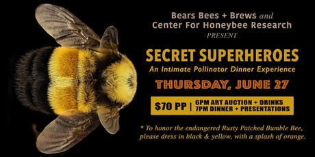 Pollinators: Secret Superheroes, an intimate dinner experience  tickets