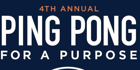 Ping Pong for a Purpose - 2019 tickets
