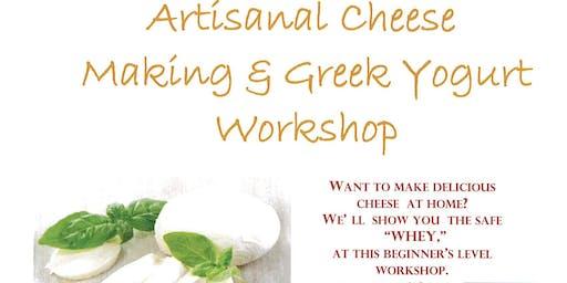 Artisanal Cheese Making & Greek Yogurt Workshop