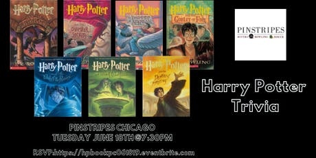 Harry Potter (Book) Trivia at Pinstripes Chicago tickets