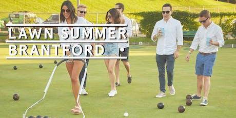 Brantford Pop Up - Social Tickets @ Lawn Summer Nights tickets