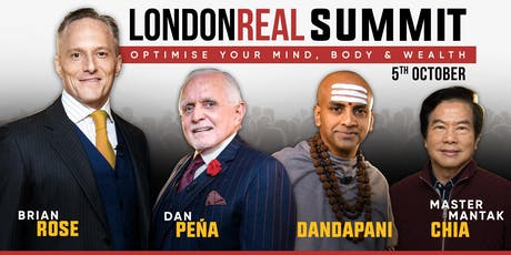 Summit 2019 - London Real tickets