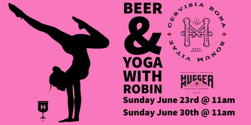 Yoga & Beer with Robin