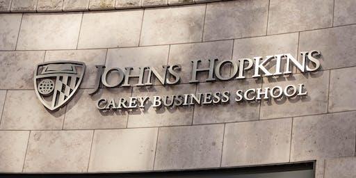 Carey Business School's Career Advisory Committee Meeting