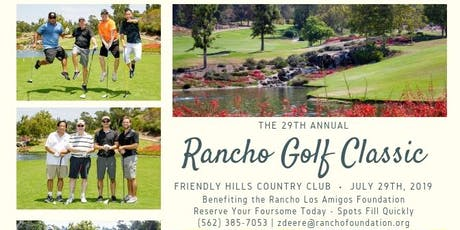 29th Annual Rancho Golf Classic tickets