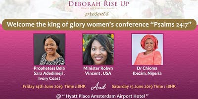 Deborah Rise Up Conference Amsterdam