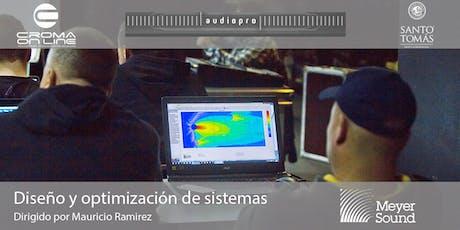 Diseño y optimización de sistemas | Concepción 2019 entradas