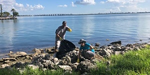 Kennedy Park Walkway Ribbon Cutting and Shore Clean-up