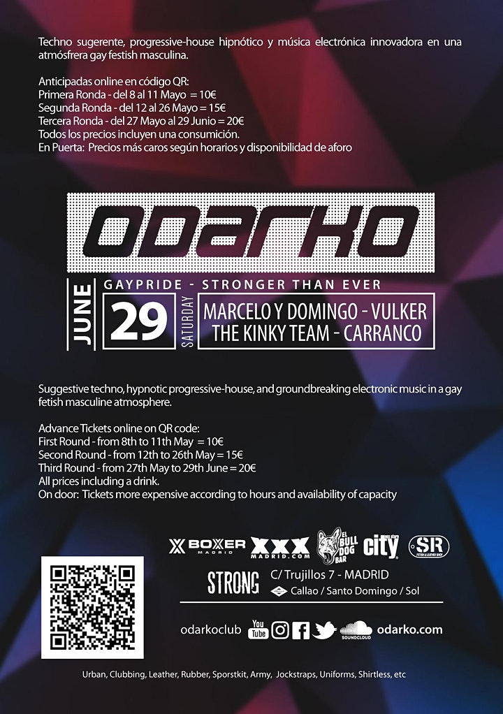 Imagen de ODARKO (GayPride - Stronger Than Ever)