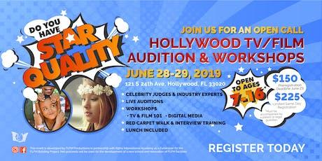 HOLLYWOOD TV/FILM AUDITION & WORKSHOPS   Hollywood FL tickets
