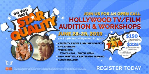 HOLLYWOOD TV/FILM AUDITION & WORKSHOPS | Hollywood FL