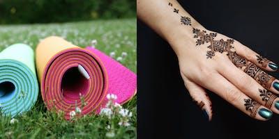 Yoga & Henna at Ada Farmers Market!