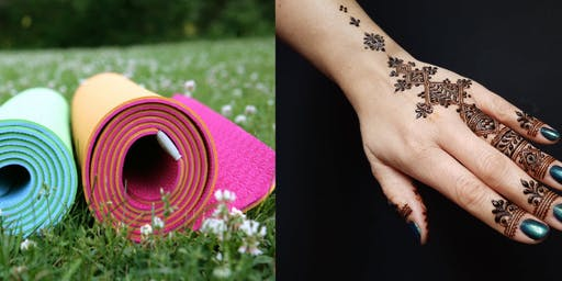 Yoga & Henna at Ada Farmers Market!