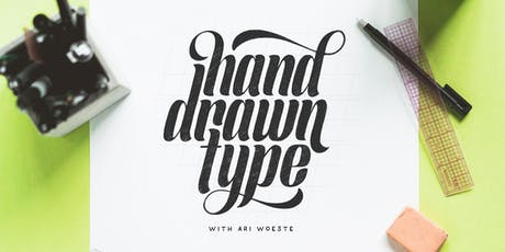 Hand Drawn Type with Ari Woeste tickets